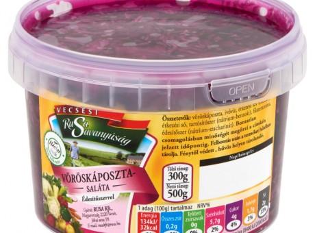 Vöröskáposzta-saláta